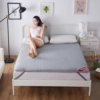 2019新款双面保暖床垫 120*200 灰色