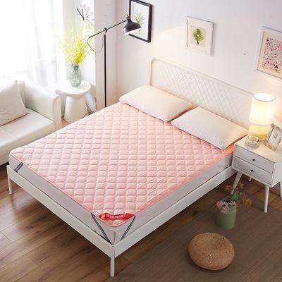 2019新款床垫保洁垫 1.2*200 粉色