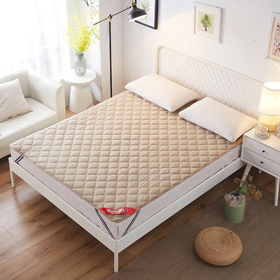 2019新款床垫保洁垫 1.2*200 咖啡