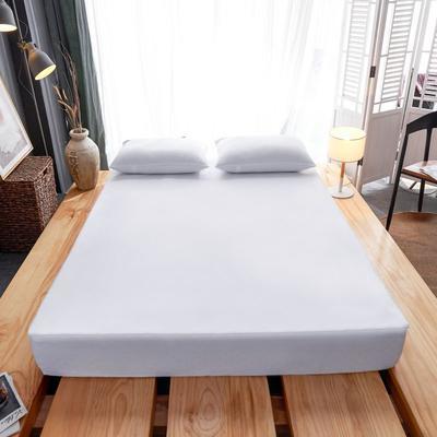 2019新款防水六面全包床笠 120x200+15cm 白色