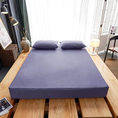 2019新款防水六面全包床笠 120x200+15cm 烟熏紫