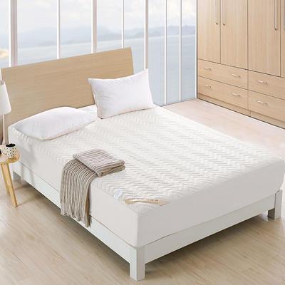 全棉波纹床笠 0.9*2.0米订做 天蓝