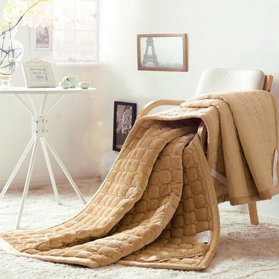 法莱绒床褥 90*200 法莱绒床褥-驼色