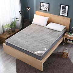 法莱绒硬质棉床垫 0.9*2.0米 法莱绒硬质棉床垫-灰色