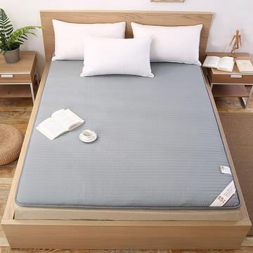 宽边透气棉床垫 1.5*2.0米 灰色