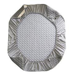 水晶绒普通版床笠 150cmx200cm 水晶绒普版床笠-灰色