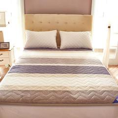 丽诺床垫—宽边法兰绒三明治床垫 200*220订做 宽边三明治-梦幻空间
