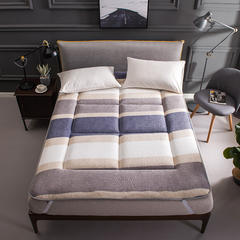 新款-法兰绒防滑床垫 90*200 法兰绒防滑床垫-梦幻空间