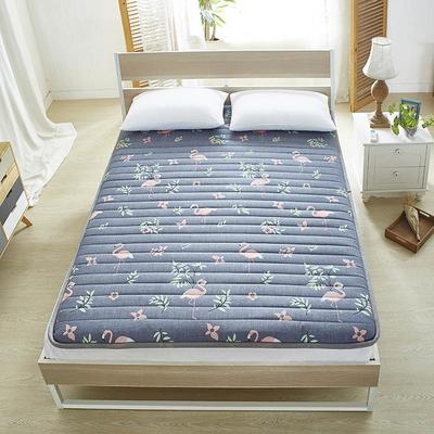 粗麻床垫 0.9*2.0米 粗麻床垫-火烈鸟