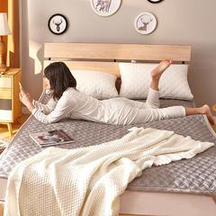 全棉3D透气床褥 0.9*2.0m床 全棉3D透气床褥-灰色