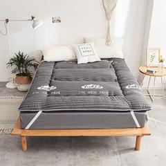 磨毛绗缝床垫 0.9*2.0m 磨毛绗缝床垫-新潮流