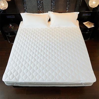 新款-酒店床护垫 90*200 酒店床护垫-白
