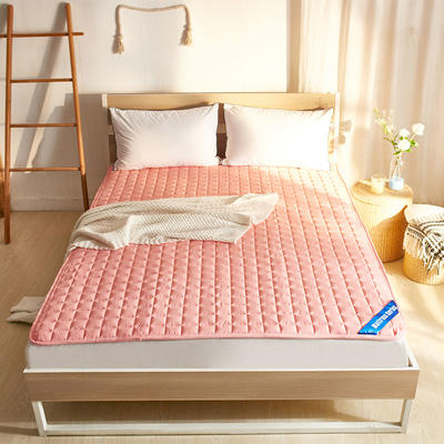 丽诺-纯色防滑床褥 90*200 玉色
