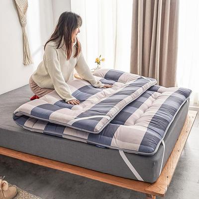 2019新款-磨毛绗缝床垫2.12 90*200 磨毛绗缝床垫-优品
