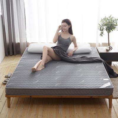 乳胶立体床垫-6cm 0.9*2.0 乳胶立体床垫-灰色羽毛