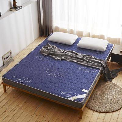 乳胶立体床垫-10cm 0.9*2.0 乳胶立体床垫-蓝色鲸鱼