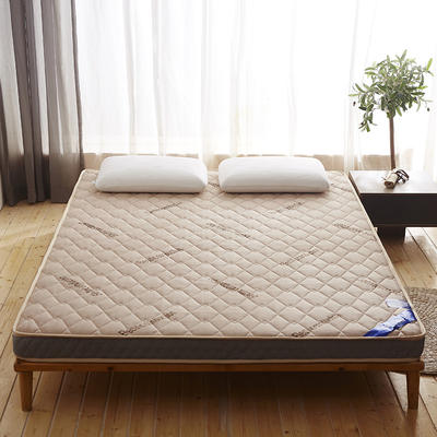 6cm针织棉立体床垫 0.9*2.0 驼色