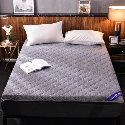 2019新款针织棉床垫 0.9*1.9m 点点灰(6cm)