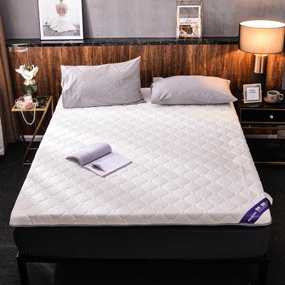 2019新款针织棉床垫 0.9*1.9m 珍珠白(10cm)