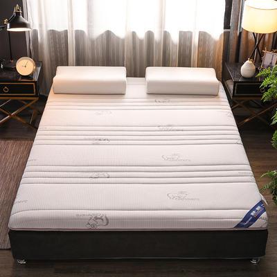 2019新款乳胶硬质棉床垫 0.9*1.9 吉羊白(单边6cm)