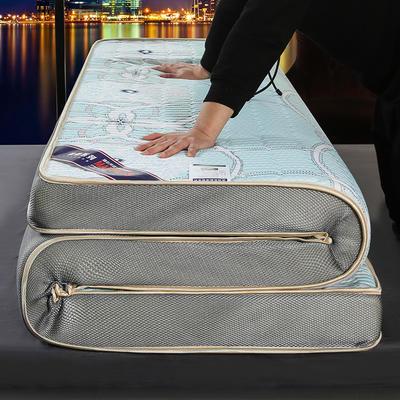 2020新款冰感丝床垫 90*190 冰感丝似水年华(9公分)