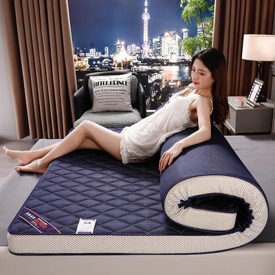 2020年乳胶记忆棉立体床垫 0.9*1.9m/6公分 3D蓝