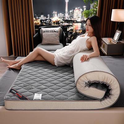 2020年乳胶记忆棉立体床垫 0.9*1.9m/6公分 叶情灰
