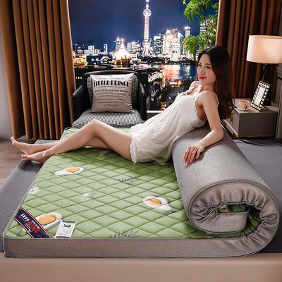 2020新款乳胶硬质棉床垫 0.9*1.9m/6公分 3D牛油果