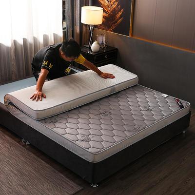 2020新款乳胶硬质棉床垫 0.9*1.9m/6公分 吉羊灰