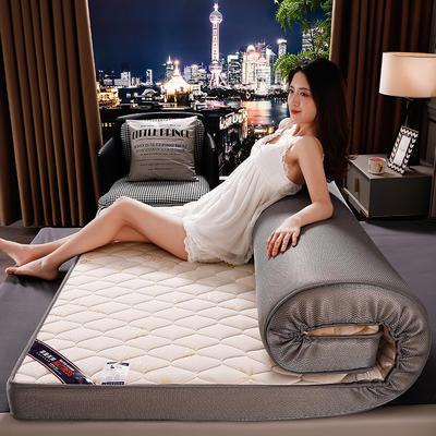 2020新款乳胶硬质棉床垫 0.9*1.9m/6公分 叶情米