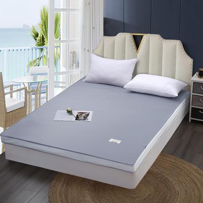 2020新款可拆洗记忆棉床垫 0.9*1.9(约5cm) 时尚灰