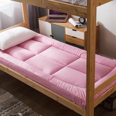 2019新款羽丝绒床垫(学生款) 0.9m 粉色