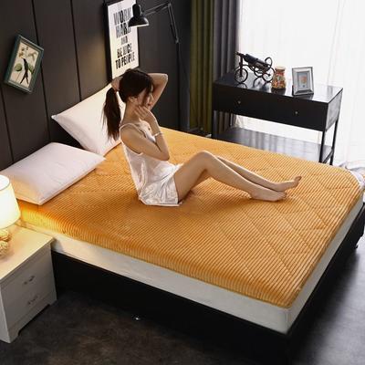 2020新款魔法绒6cm床垫(贵族) 0.9m 贵族-姜黄