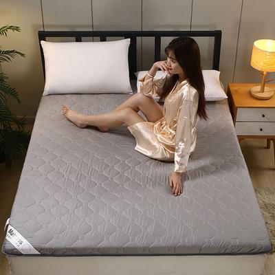 2020新款水洗棉6cm床垫(典雅) 0.9m 典雅-灰