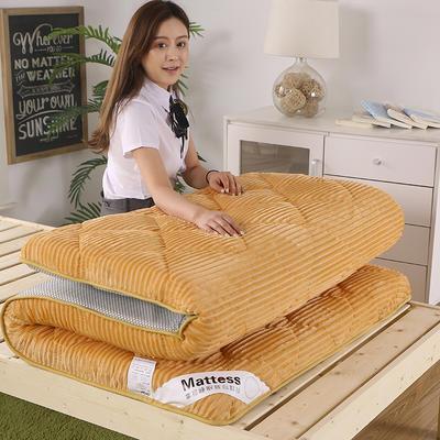 2020新款魔法绒90cm床垫 0.9m 贵族-驼色
