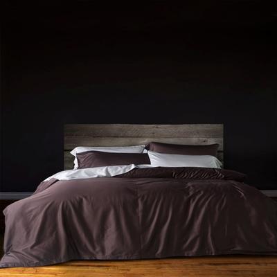 60支 贡缎长绒棉 素色套件 标准(200*230cm) 星巴咖