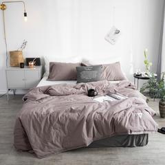 水洗棉织标系列夏被 150x200cm 灰咖