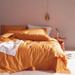 2018年 纯色长绒棉 新款 标准(200*230) 爱马仕 橙