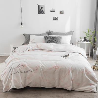 冷色调 绣花套件 标准(200*230) 波尔沃(粉)