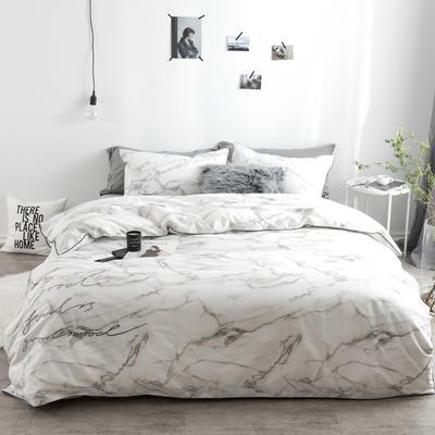 冷色调 绣花套件 标准(200*230) 波尔沃(灰)