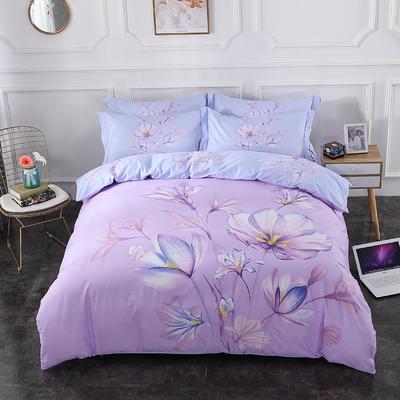 13372 匹马棉  新款  3月份新增 标准(200*230) 苏美尔 紫