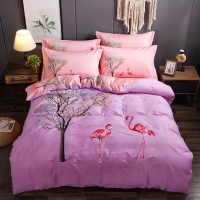 2019 4.22新增匹马棉套件(更新中) 被套(200*230) D罗拉之翼 紫