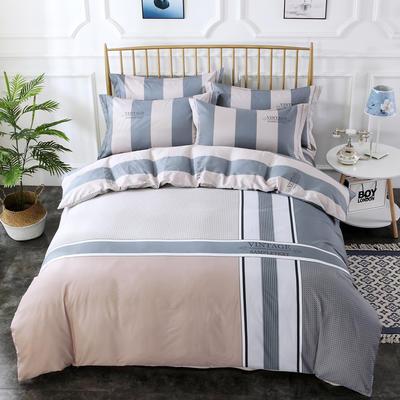 2020新款-格子卡通系列四件套 床单款1.5m(5英尺)床 盛夏光年