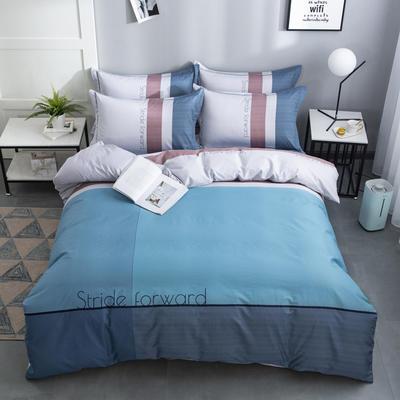 2020新款-格子卡通系列四件套 床单款1.5m(5英尺)床 英伦风情