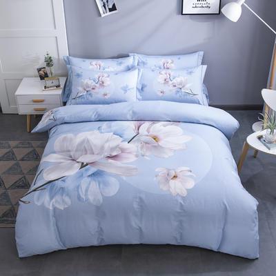电子图 2020新款-第二批大版花 床单款1.5m(5英尺)床 万紫千红 兰