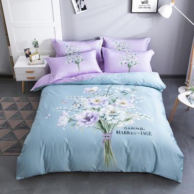 电子图 2020新款-第二批大版花 床单款1.5m(5英尺)床 夏日倾情