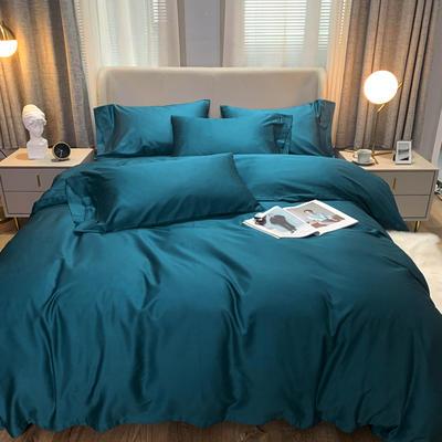 2020 纯色 长绒棉 标准(200*230) 深海蓝