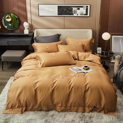 80S长绒棉 刺绣款 一鹿有你 2.0m(6.6英尺)床 帛咖
