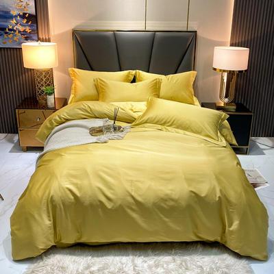 100S双股长绒棉纯色款 加大(220*240cm) 靓丽黄