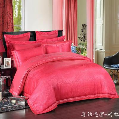 慕絲 床單vs床蓋 同款4-7件套 標準床單四件套 喜結連理-莊紅